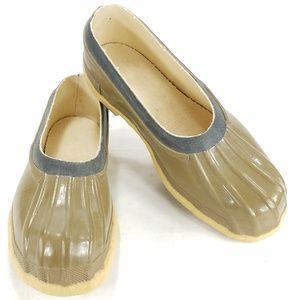 Vintage Streamwood Top Notch Rubber Mens Shoes